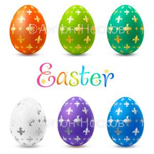 Пасзальные яйца